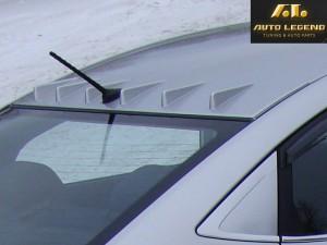 Аэродинамический рассекатель на крышу для Hyundai Solaris (с 6 зубьями)