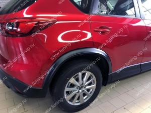 Расширители арок для Mazda CX-5 (текстурный пластик)
