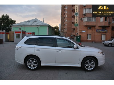 Пороги для Mitsubishi Outlander Broomer Design