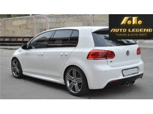 Пороги в стиле R-Line для Volkswagen Golf VI